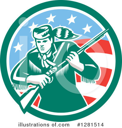Patriot Clipart #1281514 by patrimonio