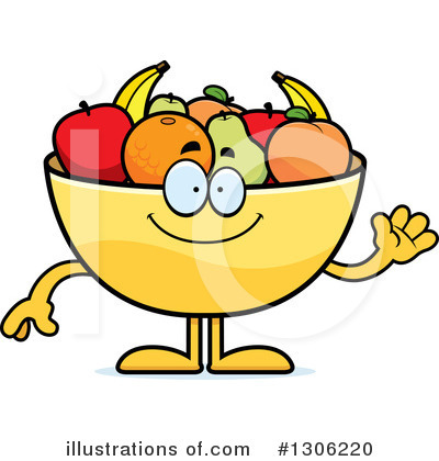 Fruit Bowl Clipart #1306220 by Cory Thoman