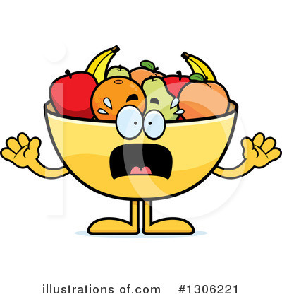 Fruit Bowl Clipart #1306221 by Cory Thoman