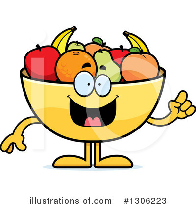 Fruit Bowl Clipart #1306223 by Cory Thoman