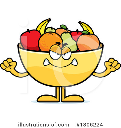 Fruit Bowl Clipart #1306224 by Cory Thoman