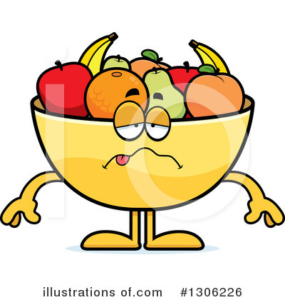 Fruit Bowl Clipart #1306226 by Cory Thoman