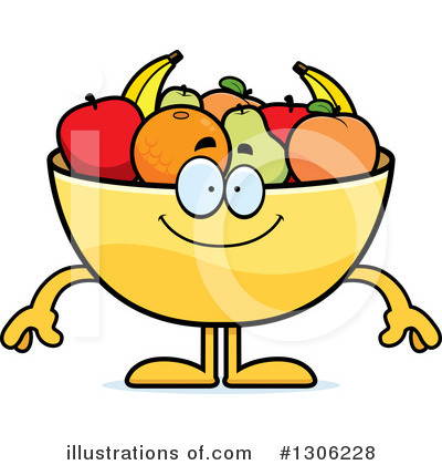 Fruit Bowl Clipart #1306228 by Cory Thoman