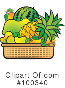 Fruit Clipart #100340 by Lal Perera