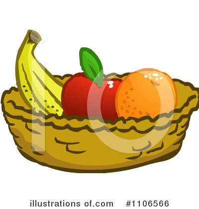 Fruit Bowl Clipart #1106566 by Cartoon Solutions