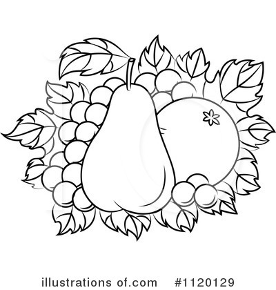 Pear Clipart #1120129 by Vector Tradition SM