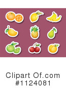 Fruit Clipart #1124081 by Graphics RF