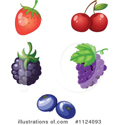 Cherry Clipart #1124093 by Graphics RF
