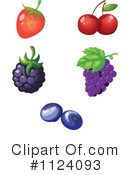 Royalty-Free (RF) Fruit Clipart Illustration #1124093