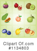 Royalty-Free (RF) Fruit Clipart Illustration #1134803