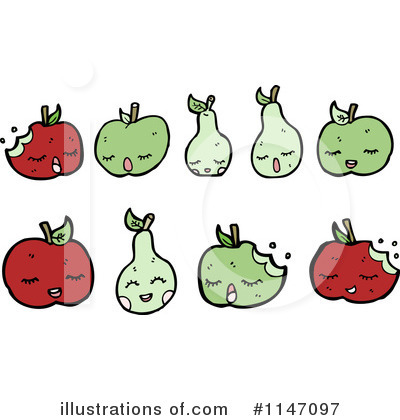 Pear Clipart #1147097 by lineartestpilot