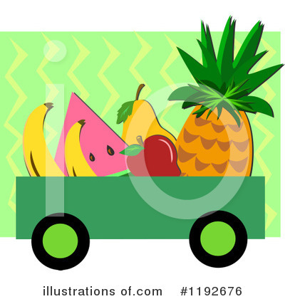 Pineapple Clipart #1192676 by bpearth