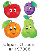 Royalty-Free (RF) Fruit Clipart Illustration #1197006