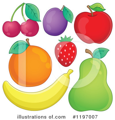 Fruit Clipart #1197007 by visekart