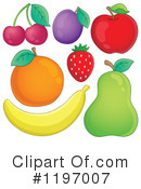 Royalty-Free (RF) Fruit Clipart Illustration #1197007