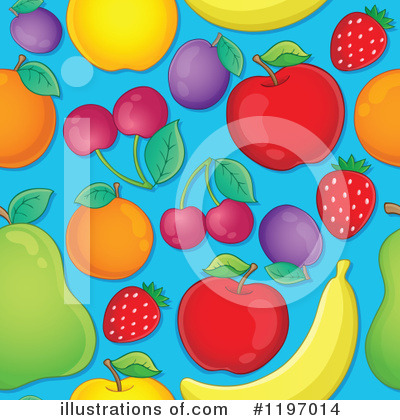 Fruit Clipart #1197014 by visekart
