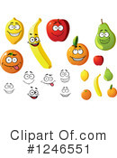 Fruit Clipart #1246551 by Vector Tradition SM