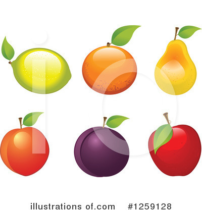 Pear Clipart #1259128 by Pushkin