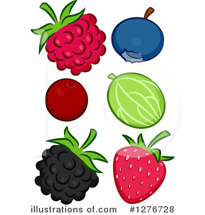 Strawberry Clipart #1276728 by BNP Design Studio