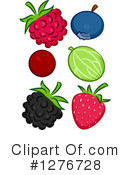 Royalty-Free (RF) Fruit Clipart Illustration #1276728