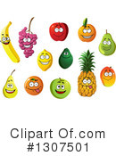 Fruit Clipart #1307501 by Vector Tradition SM