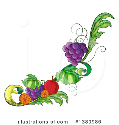 Fruit Clipart #1380986 by Graphics RF