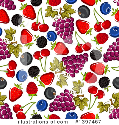 Cherry Clipart #1397467 by Vector Tradition SM