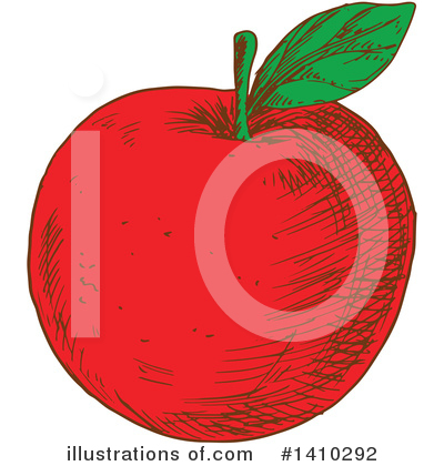 Apple Clipart #1410292 by Vector Tradition SM