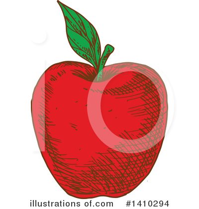 Apple Clipart #1410294 by Vector Tradition SM