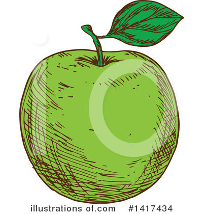 Apple Clipart #1417434 by Vector Tradition SM