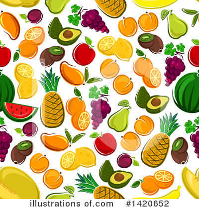 Apple Clipart #1420652 by Vector Tradition SM