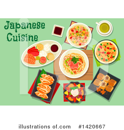Japanese Clipart #1420667 by Vector Tradition SM