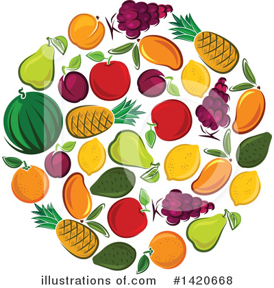 Apple Clipart #1420668 by Vector Tradition SM