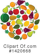 Fruit Clipart #1420668 by Vector Tradition SM
