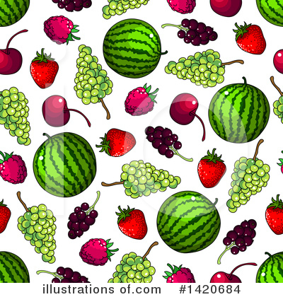 Cherry Clipart #1420684 by Vector Tradition SM