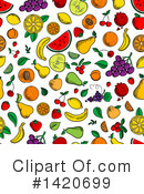 Fruit Clipart #1420699 by Vector Tradition SM