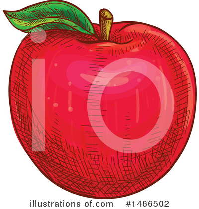 Apple Clipart #1466502 by Vector Tradition SM