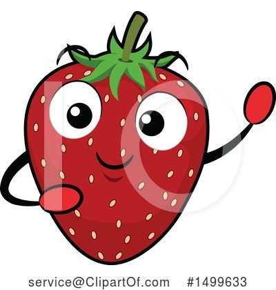 Strawberry Clipart #1499633 by BNP Design Studio