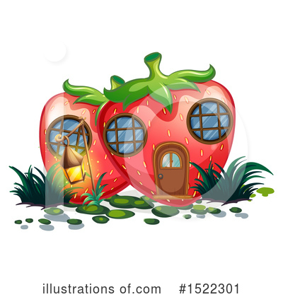 Strawberry Clipart #1522301 by Graphics RF