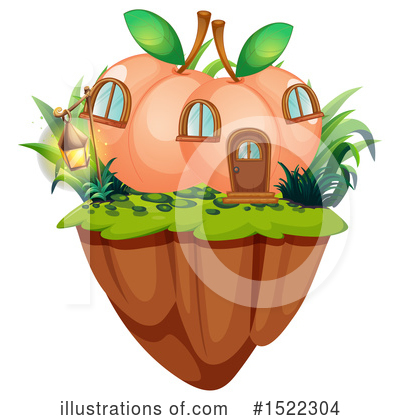 Peach Clipart #1522304 by Graphics RF