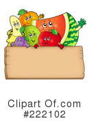 Royalty-Free (RF) Fruit Clipart Illustration #222102