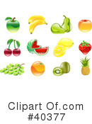 Fruit Clipart #40377 by AtStockIllustration