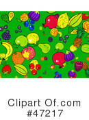 Royalty-Free (RF) Fruit Clipart Illustration #47217