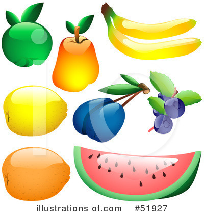 Plums Clipart #51927 by dero