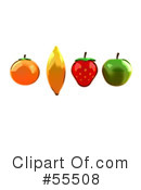 Fruit Clipart #55508 by Julos