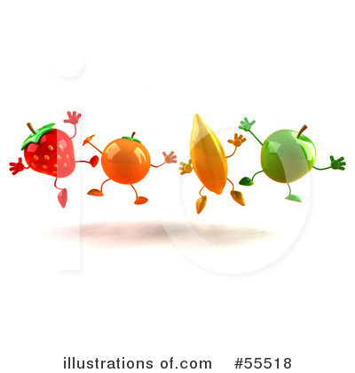 Strawberry Clipart #55518 by Julos