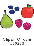 Royalty-Free (RF) Fruit Clipart Illustration #66233