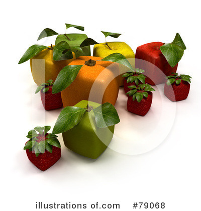 Strawberry Clipart #79068 by Frank Boston