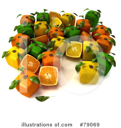 Limes Clipart #79069 by Frank Boston