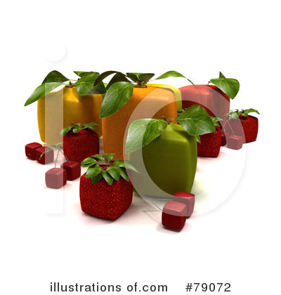 Oranges Clipart #79072 by Frank Boston